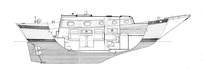 Port Elevation