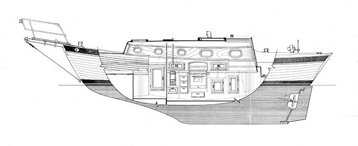 Starboard Elevation